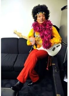 Photos: Wildest Celebrity Halloween Costumes - Bill Murray backstage during the Crossroads Guitar Festival in Bridgeview, Illinois Celebrity Halloween Costumes, Cool Halloween Costumes, Happy Halloween, Weird Costumes, Halloween 2013, Couple Costumes, Costume Ideas, Paisley, Photos Of The Week