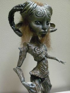 OOAK Monster High Pan's Labyrinth Faun Mod Cam Witch MH Doll | eBay
