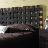 Shop for Seagrass Open Weave Twin Headboard. Get free delivery On EVERYTHING* Overstock - Your Online Furniture Shop! Grey Headboard, Seagrass Headboard, Diy Full Size Headboard, Headboard Designs, Headboard Ideas, Furniture Factory, Diy Headboards, Bed Frame, Diy Furniture