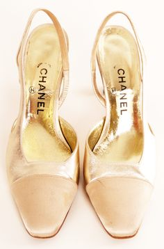 CHANEL HEELS Pinned by TheChanelista on Pinterest.