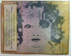 Made with Donna Downey stamp - She is in Transition