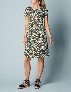 Pretty Jersey Dress WW010 Jersey Dresses at Boden