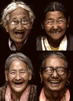 """evnglka: """" Wrinkled with smiles :) """""""