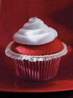 Cupcakes Red Velvet Recettes | Ricardo #cupcakes #redvelvet