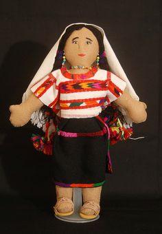 Mixtec Doll Oaxaca Mexico .. Oaxaca,Mexico