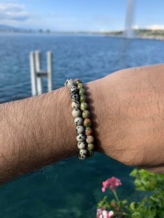 The sun's out here in Geneva and so are our summer bracelets for men and women. Check them out in the link below!  #jewellery #jewelry #bijouxfaitmain #jewelrybracelets #jewelryaccessories #jewelleryphotography #switzerland #geneva Summer Bracelets, Bracelets For Men, Jewelry Bracelets, Jewellery, Cashmere Wool, Dalmatian, Geneva, Indian Outfits, Switzerland