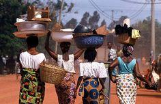 Beautiful women - the providers in Ghanaian society.