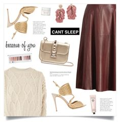 """""""Because Of You"""" by marina-volaric ❤ liked on Polyvore featuring Topshop, Salvatore Ferragamo, Valentino, Sachin + Babi and Bobbi Brown Cosmetics"""