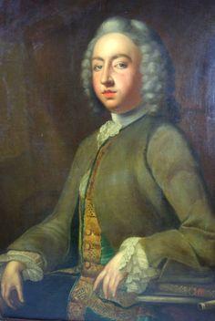 Antique Oil Portrait | Oil on Canvas, Unsigned | England 1780 | B606