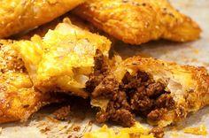 Enkla tacopiroger med smördeg