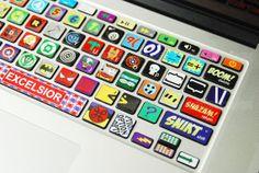 Keyboard-Decal MacBook Macbook Keyboard Decal/Macbook Pro Keyboard Skin/Macbook Air Sticker/Macbook vinyl sticker on Etsy, £9.89