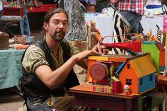 Die Rindenviecher – Holzkunst aus dem Norden Galloway, Ferris Wheel, Fair Grounds, Fall Halloween, Home And Garden, Artworks