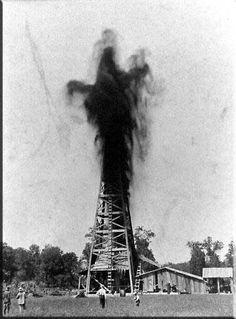 Image result for oil gusher images