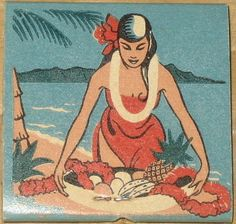 Aloha Room Matchbook cover