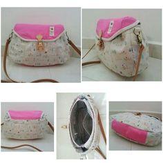 Zakka Pinky Girl Sling Bag