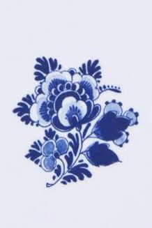 Delft cornflower blue