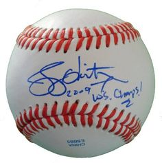 "New York Yankees Jerry Hairston Jr. Autographed ROLB Baseball Featuring ""2009 WS Champs!"" Inscription! Proof Photo by Southwestconnection-Memorabilia. $49.99. This is a Jerry Hairston Jr. autographed Rawlings official league baseball with ""2009 WS Champs!"" inscription! Jerry signed the ball in blue ballpoint pen. Check out the photo of Jerry signing for us. Proof photo is included for free with purchase. Please click on images to enlarge. 1"