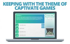 We've released three themed versions of our Millionaire game for Adobe Captivate: Clear, Finance, and Executive. And, as a special bonus, we've added a brand new Captivate game to our Template Library as well!