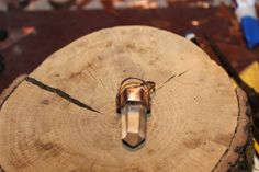 Be : crystal on recycled copper  Ancient style by crystalflow