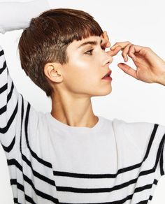Short Haircut with Sass - 60 Short Shag Hairstyles That You Simply Can't Miss - The Trending Hairstyle Short Shag Hairstyles, Very Short Haircuts, Hairstyles For Round Faces, Celebrity Hairstyles, Really Short Hair, Short Hair Cuts, Hair Inspo, Hair Inspiration, Cut My Hair