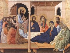Parting from the Apostles 1308-11 Duccio di Buon