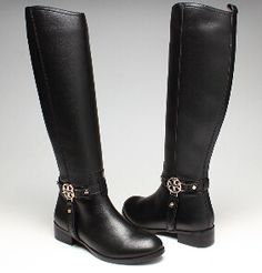 Women Amanda Black Riding Tory Burch Boot For Sale Online $154.95