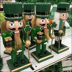 St. Patrick's Day Nutcracker Cross-Sell