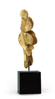 Isabelle Waldberg, Woman, 1972, Bronze, 11,5 cm, Private collection