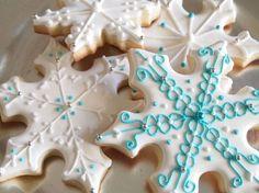 Snowflake cookies- by Auntie Bea's Bakery