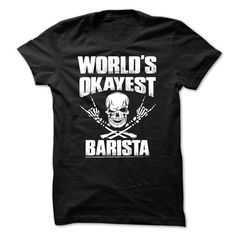 Awesome Barista T Shirts, Hoodies. Get it here ==► https://www.sunfrog.com/Funny/Awesome-Barista-Shirt-16358509-Guys.html?41382