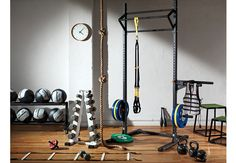 As soon as I have room for this stuff, believe me I am building my own gym.