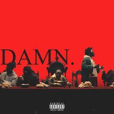 Kendrick Lamar - DAMN. [1250x1250] : freshalbumart