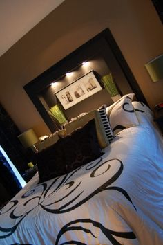 Love the Built in behind the bed..