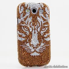 """Style 473 This Bling case can be handcrafted for Samsung Galaxy S3, S4, Note 2. The current price is $79.95 (Enter discount code: """"facebook102"""" for an additional 10% off during checkout)"""
