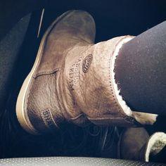 I love my Shabbies Amsterdam Boots