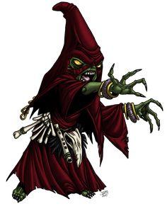 Goblin Shaman by ProdigyDuck