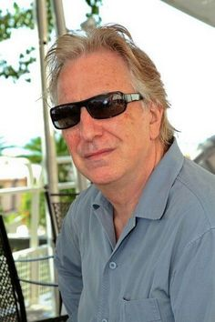 Sept 5, 2013 - Alan Rickman at Hotel Excelsior, Lido, Italy - 70th Int'l Venice Film Fest. He and Rima were both there.