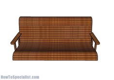 This step by step diy woodworking project is about free porch swing bench plans. This porch swing bench is really sturdy and it features a nice clean design, so you can match it with any style. Woodworking Bench Plans, Woodworking Supplies, Wood Plans, Popular Woodworking, Woodworking Projects Diy, Wood Projects, Backyard Projects, Teds Woodworking, Woodworking Magazines