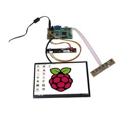 """Wearson 8.9"""" Inch High Resolution 1920x1200 IPS LCD Display Screen Panel With HDMI & VGA Driver Board Controller Set For Raspberry Pi B+/2B/3B … Review Projetos Raspberry Pi, Raspberry Pi B, Lcd Monitor, Display Screen, Resolutions, Board, Shelves, Kit, Check"""