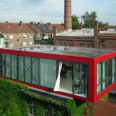 Not technically a container home but you could definitely do something similar
