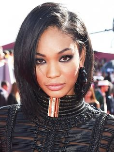 Chanel Iman's #VMA look was nothing short of smoldering.