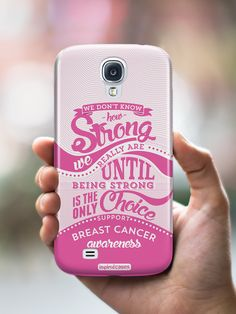 How Strong - Cerebral Palsy Awareness Case Cerebral Palsy Awareness, Breast Cancer Awareness, Cell Phone Cases, Iphone Cases, I Believe In Pink, Lyme Disease, Asthma, Strong, Type 1