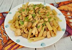Spicy Chicken and Mushroom Pasta ~ Chicken Pastas are always a winner for a quick, yet delicious weeknight dinner ! Get this dish on the table in 20 minutes - start to finish !