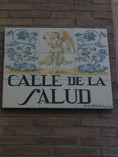 Calle de la Salud. Madrid.
