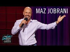 Watch The Late Late Show with James Corden: Maz Jobrani Stand-Up - Full show on CBS All Access Maz Jobrani, Stand Up Show, Cbs All Access, The Late Late Show, Full Show, Comedians, Chef Jackets, Comedy, Jokes
