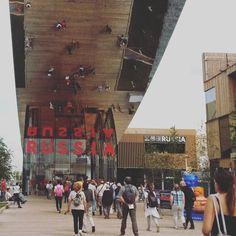 Сегодня мне посчастливилось попасть на одно из самых больших кулинарных мероприятий - на выставку Expo Milano! - Instagram by natalikka_ru