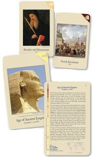 101 Days of Homeschooling: Day 63 / 102 - Classical Acts and Facts History Cards Review Ideas