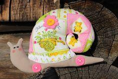 Snail Toy, Small Snail, Homedecor Tilda Toy, Stuffed Snail, Shabby Chic toy