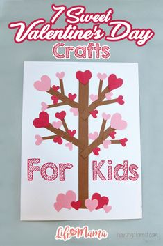 Valentine's Day will be here before you know it, and I for one, can't say no to a fun craft centered around this holiday. There is just something so precious about a child's depiction of love! If you're sweet on this holiday like I am, then you will love these simple crafts for kids this Valentine's Day.