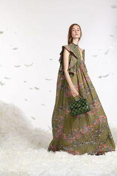 Saree, Lehenga Choli, Lehenga, Silk, Green, Choli, Dress, Maxi Dress, Printed